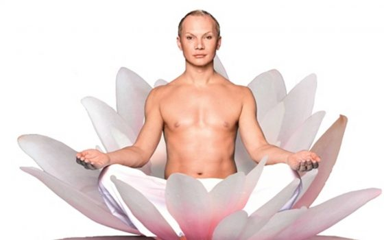 Yogasession mit CHRIS KOLONKO