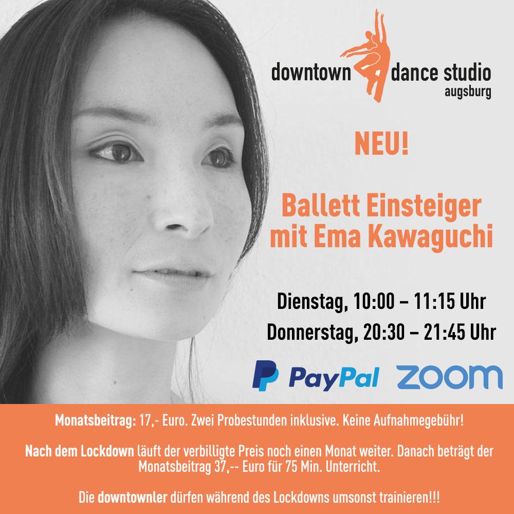 Ballett Einsteiger mit Ema Kawaguchi